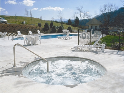 Laurel crest outdoor spa