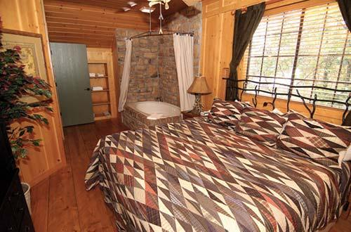 The cabins at green mountain bedroom