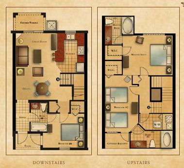 Villas At Regal Palms Floor Plans